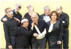 """Cherubim """"An der Sch(m)erzgrenze"""" im Theatersaal des Antonia-Werr-Zentrums"""